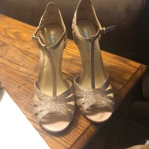 Betsey Johnson high heel dress shoes